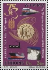 [The  	75th Anniversary of the Commercial Bank of Ethiopia, type BKD]
