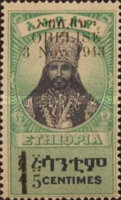 [Issue of 1942 Overprinted & Surcharged in Black, type BW]