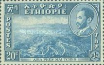 [Views with Medallion Portrait of Haile Selassie Inset, type IG]