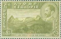 [Views with Medallion Portrait of Haile Selassie Inset, type IL]