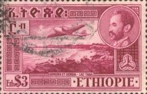 [Airmail - Views with Medallion Portrait of Haile Selassie Inset, Typ IR]
