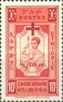 [Red Cross Fund - Issues of 1945, without V, Overprinted and Surcharged, Typ JF]