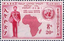 [Airmail - The 1st Session of U.N. Economic Conference for Africa, Addis Ababa, Typ LN1]