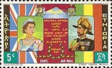 [Airmail - Visit of Queen Elizabeth II, Typ OX]