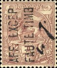 [No. 1-7 Surcharged & Overprinted