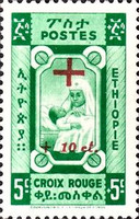 [Red Cross Fund - Issues of 1945, without V, Overprinted and Surcharged, Typ XJE]