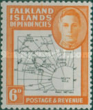 [King George VI - Map of Falkland Islands, type A11]