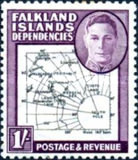 [King George VI - Map of Falkland Islands, type A16]