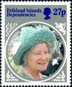[The 85th Anniversary of the Birth of HRM Queen Elizabeth The Queen Mother, type CE]