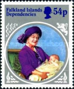 [The 85th Anniversary of the Birth of HRM Queen Elizabeth The Queen Mother, type CF]