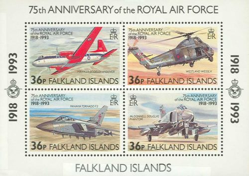 [The 75th Anniversary of Royal Air Force, type ]