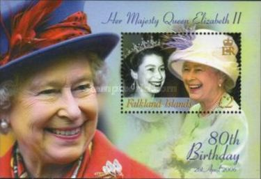 [The 80th Anniversary of the Birth of Queen Elizabeth, Typ ]