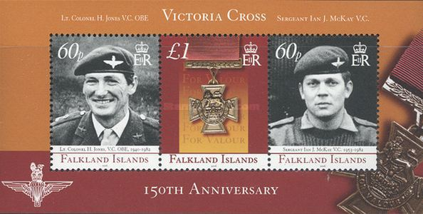 [The 150th Anniversary of the Victoria Cross, Typ ]