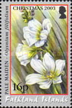 [Christmas - National Flower - Pale Maiden, Typ AEQ]