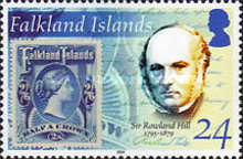 [The 125th Anniversary of the Death of Sir Rowland Hill, Postal Reformer, 1795-1879, Typ AFD]