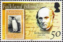 [The 125th Anniversary of the Death of Sir Rowland Hill, Postal Reformer, 1795-1879, Typ AFE]
