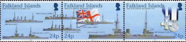 [The 90th Anniversary of the Battle of the Falkland Islands, Typ AFS]