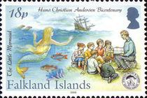 [The 200th Anniversary of the Birth of Hans Christian Andersen, 1805-1875, Typ AGS]