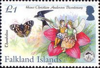 [The 200th Anniversary of the Birth of Hans Christian Andersen, 1805-1875, Typ AGV]