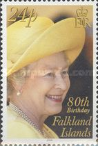 [The 80th Anniversary of the Birth of Queen Elizabeth II, Typ AHA]