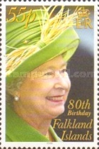 [The 80th Anniversary of the Birth of Queen Elizabeth II, Typ AHB]