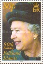 [The 80th Anniversary of the Birth of Queen Elizabeth II, Typ AHC]