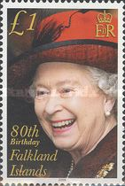 [The 80th Anniversary of the Birth of Queen Elizabeth II, Typ AHD]