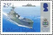 [The 25th Anniversary of HMS Plymouth Joining the Falkland Island War, Typ AIE]