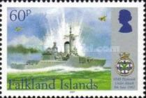 [The 25th Anniversary of HMS Plymouth Joining the Falkland Island War, Typ AIG]