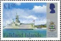 [The 25th Anniversary of HMS Plymouth Joining the Falkland Island War, Typ AIH]