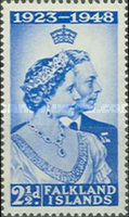 [The 25th Anniversary of the Wedding of King George VI and Queen Elizabeth, type AJ]