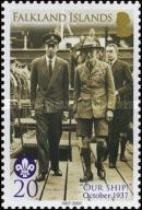 [The 100th Anniversary of Scouting, Typ AJD]
