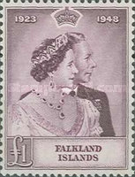 [The 25th Anniversary of the Wedding of King George VI and Queen Elizabeth, type AK]