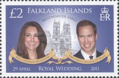 [Royal Wedding - Prince William of Wales and Cathrine Middleton, Typ ANN]