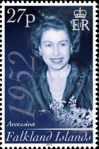 [The 60th Anniversary of the Accesion of Queen Elizabeth II, Typ AOF]
