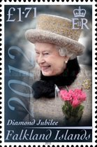 [The 60th Anniversary of the Accesion of Queen Elizabeth II, Typ AOI]