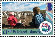 [The 30th Anniversary of the Liberation of the Falkland Islands, Typ AOP]