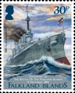 [The 100th Anniversary of the Battle of the Falkland Islands, type ARP]