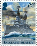 [The 100th Anniversary of the Battle of the Falkland Islands, type ARQ]