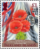 [The 100th Anniversary of the Battle of the Falkland Islands, type ARR]
