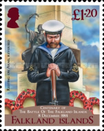 [The 100th Anniversary of the Battle of the Falkland Islands, type ARS]