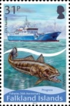 [The 30th Anniversary of the Falkland Islands Fishery, Typ AUW]