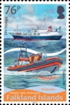 [The 30th Anniversary of the Falkland Islands Fishery, Typ AUX]