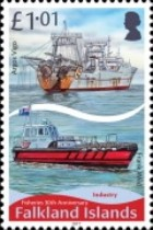 [The 30th Anniversary of the Falkland Islands Fishery, Typ AUY]