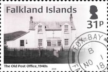 [The 100th Anniversary of the Old Post Office at Fox Bay, Typ AWD]
