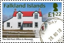 [The 100th Anniversary of the Old Post Office at Fox Bay, Typ AWG]