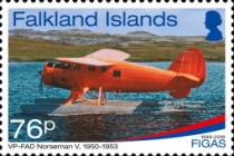 [The 70th Anniversary of the FIGAS - Falkland Islands Government Air Services, Typ AWI]