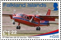 [The 70th Anniversary of the FIGAS - Falkland Islands Government Air Services, Typ AWK]