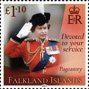 [Devoted to Your Service - The 95th Anniversary of the Birth of Queen Elizabeth II, type AYP]