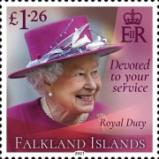 [Devoted to Your Service - The 95th Anniversary of the Birth of Queen Elizabeth II, type AYQ]